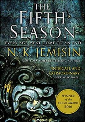 Cover of The Fifth Season by N. K. Jemisin.